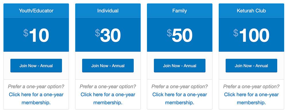 MACK Membership Options